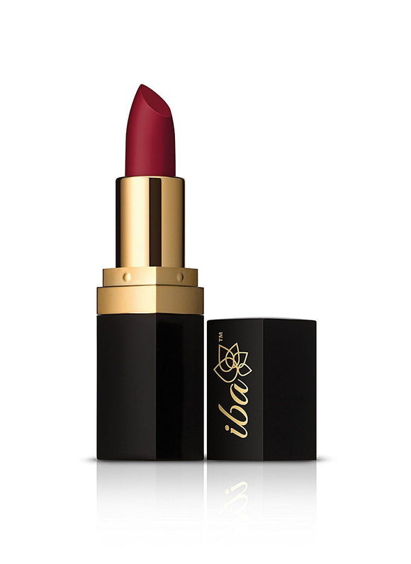 M08 Burgundy Red - Pure Lips Long Stay Matte Vegan Lipstick - IBA Halal Care