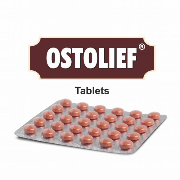 Ostolief Tablet - An effective chondroprotective and anti-osteoarthritic
