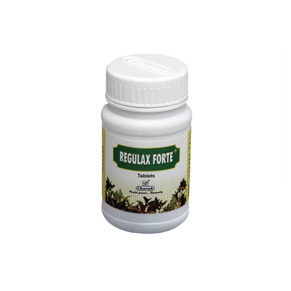 Regulax Forte Tablet - A polyherbal laxative