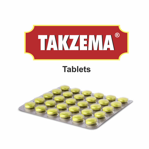 Takzema Tablets - Herbal, non-steroidal support for eczema