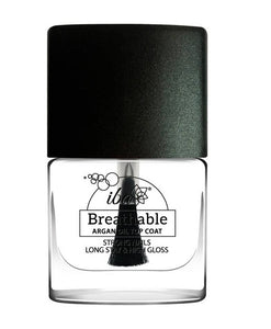 Top Coat - Clear - IBA Halal Nail Color Polish Breathable Air and Water Permeable Wuzu Friendly