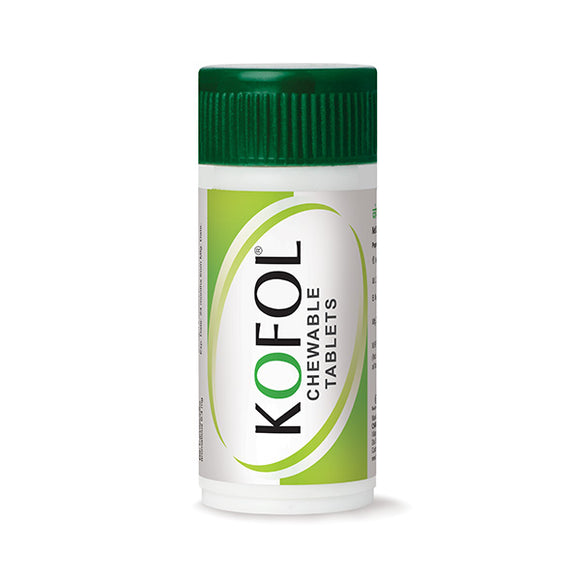 Kofol Chewable Tablets - Soothing & effective relief from sore throat