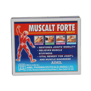 Muscalt Forte Tablet: Ayurvedic Medicine for joints pain relief
