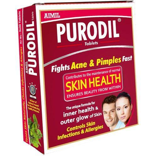 Purodil Tablet: Ayurvedic Pimple Treatment
