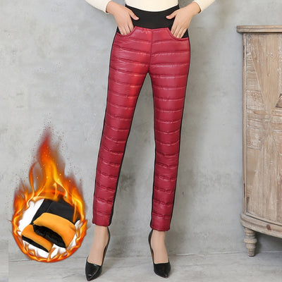 Latex Winter Leggings