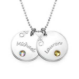 Personalized Mother pendants