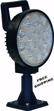 "6"" 12 LED Clear Flood Light, #1492120"