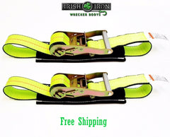 "2"" Under Reach Straps Set of 2"