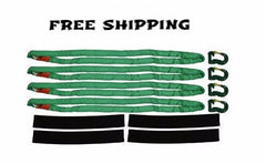 IISBK-1 Spreader Bar Kit W/Green Round Slings