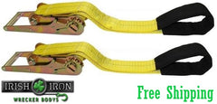 "3"" Under Reach Straps, Set of 2"