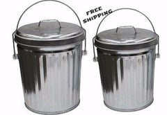 6 Gallon Aluminum Trash Can ITD1087