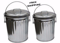 4 Gallon Aluminum Trash Can ITD1086