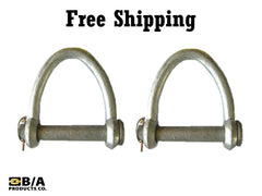 Quick Pin Web Shackle 6""