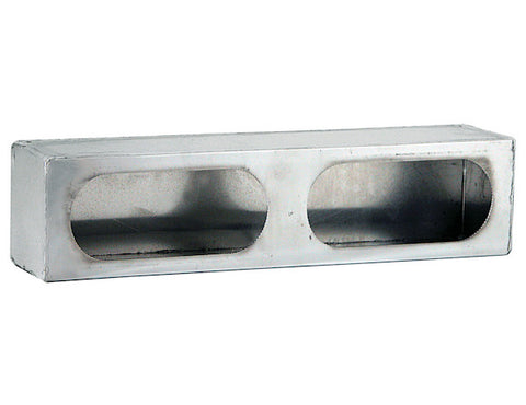 Dual-Oval Stainless Steel Light Box