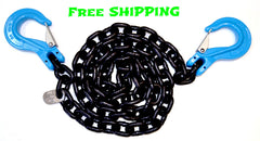 "G100 1/2"" Chain with Slip Hooks, 10' 15' & 20'"