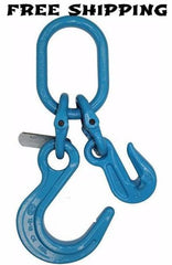 "1/2"" G100 Foundry Hook & Grab Hook on Oblong, # G10-12FGO"