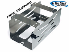 Alum Tire Stand Mounts, In The Ditch  ITD1007.  Set L & R.