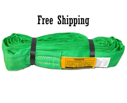Endless Round Sling Green