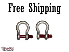Screw Pin Anchor Shackles 1/2""