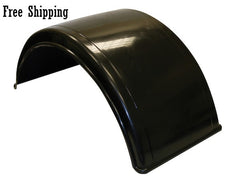 "Buyers Smooth Poly Fender Kit 19.5"" with Mounting Brackets"
