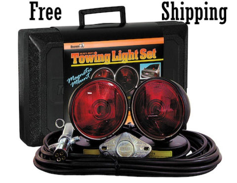 Heavy Duty Towing Light Set