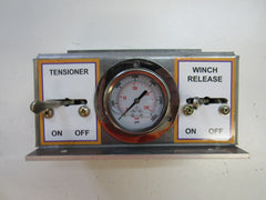 Control Panel Box with Gauge and Valves