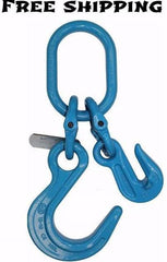 "5/8"" G100 Foundry Hook & Grab Hook on Oblong,  # G10-58FGO"
