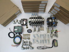 Hydraulic & Control Install Kit One Winch