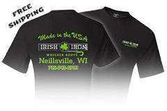 IRISH IRON T-SHIRTS