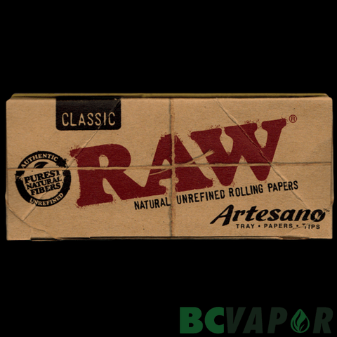 RAW ARTESANO KSS W/ TRAY, PAPERS, TIPS