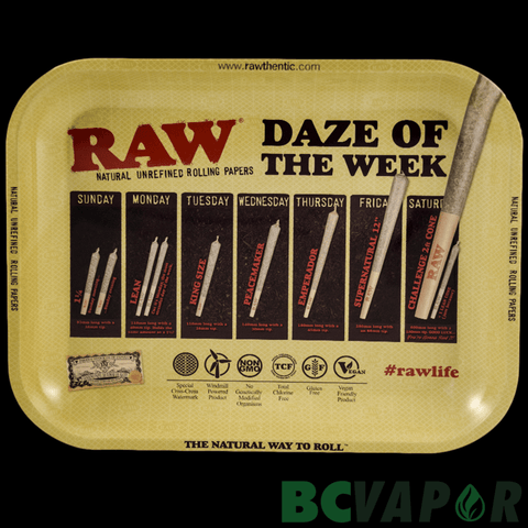 Raw Daze of the Week Tray