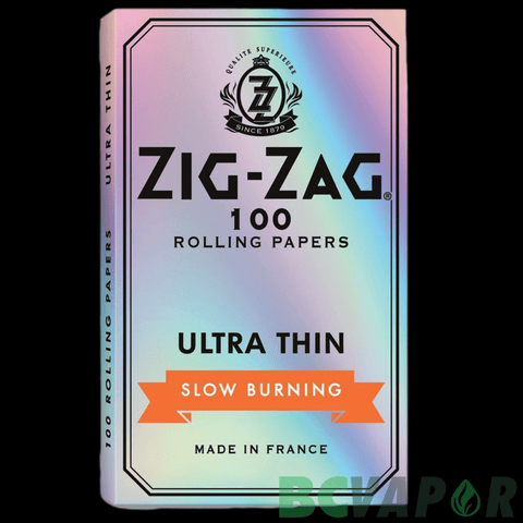 Zig Zag Silver Ultra Thin Rolling Papers