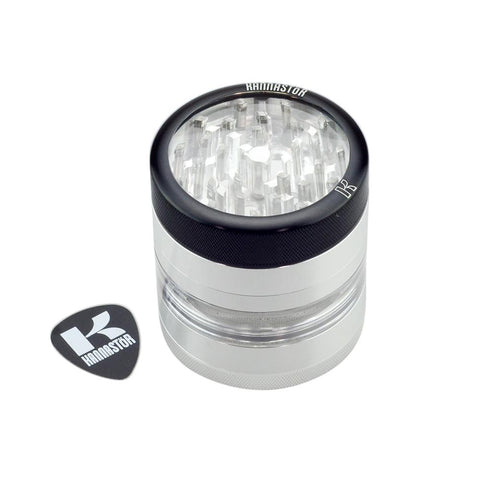 "Kannastör® - 2.2"" 4pc Clear Top Grinder/Jar"