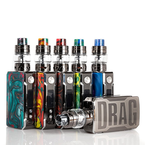 VOOPOO Drag 2 Starter Kit Platinum edition with Uforce T2 Tank - BC Vapor - Canada's #1 Vaporizer Superstore with the lowest guaranteed prices! Featuring over 500 E-Juice Flavors in our Delta/Surrey Store & Online.