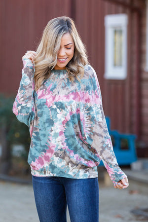 Splish Splash Long Sleeve Dolman