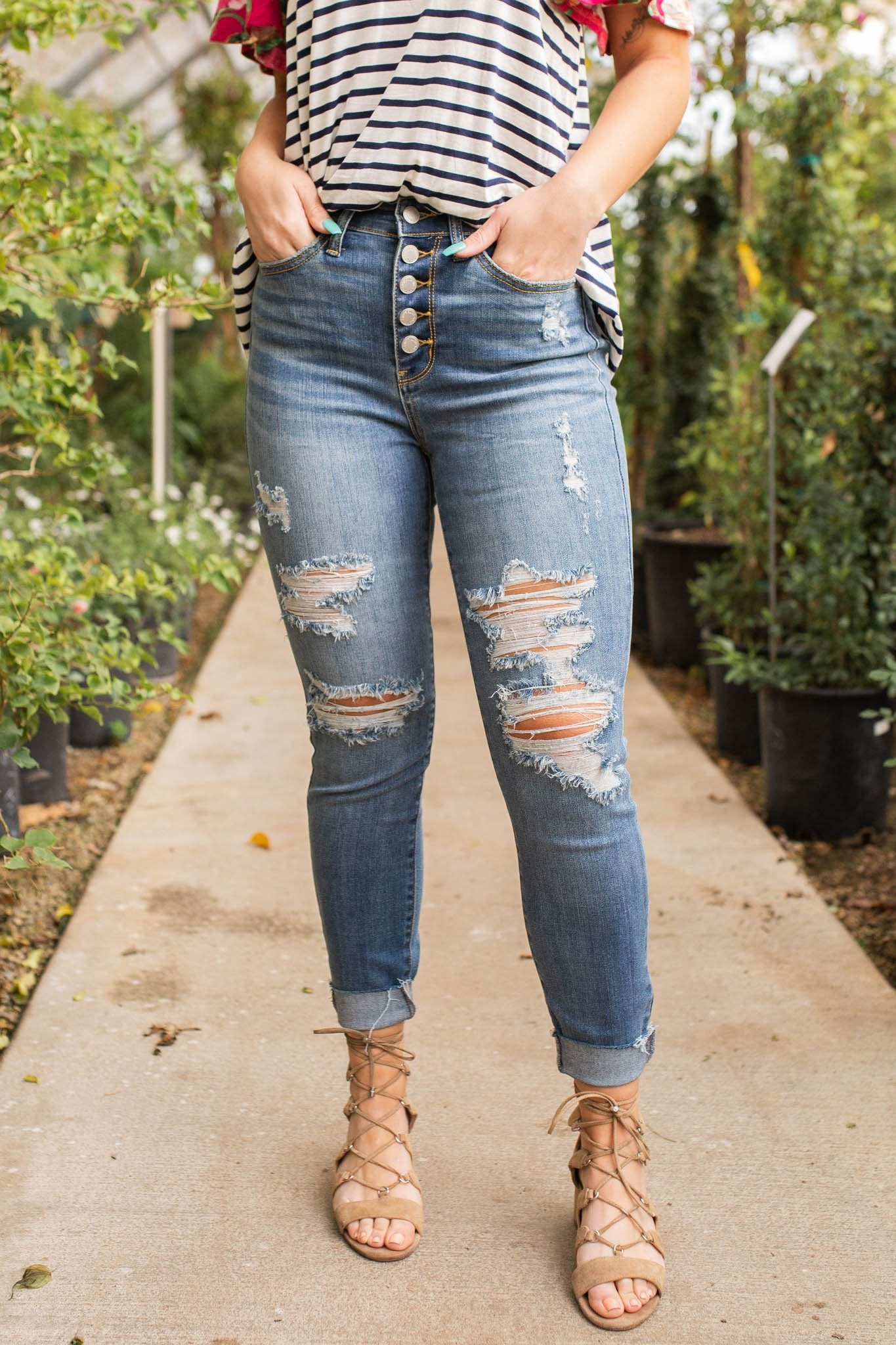 Fly Girl Judy Blue Skinnies