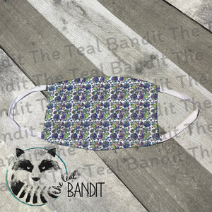 Special Butterfly cover face cover The Teal Bandit