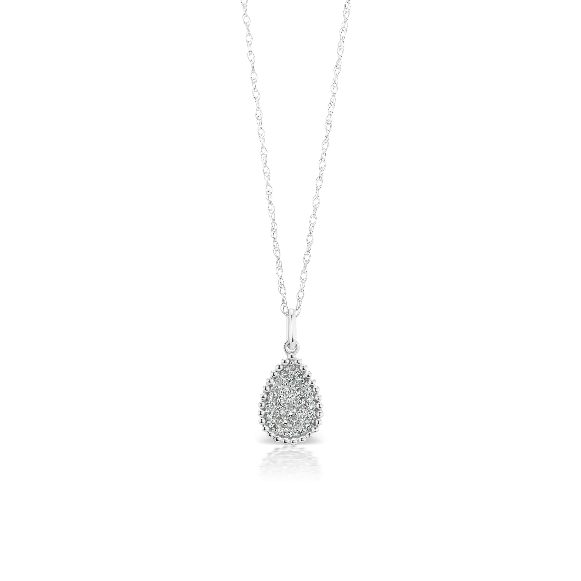 shaped pendant diamond dia pear rg products
