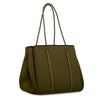 Annabel Ingall Neoprene Tote Bag in Military