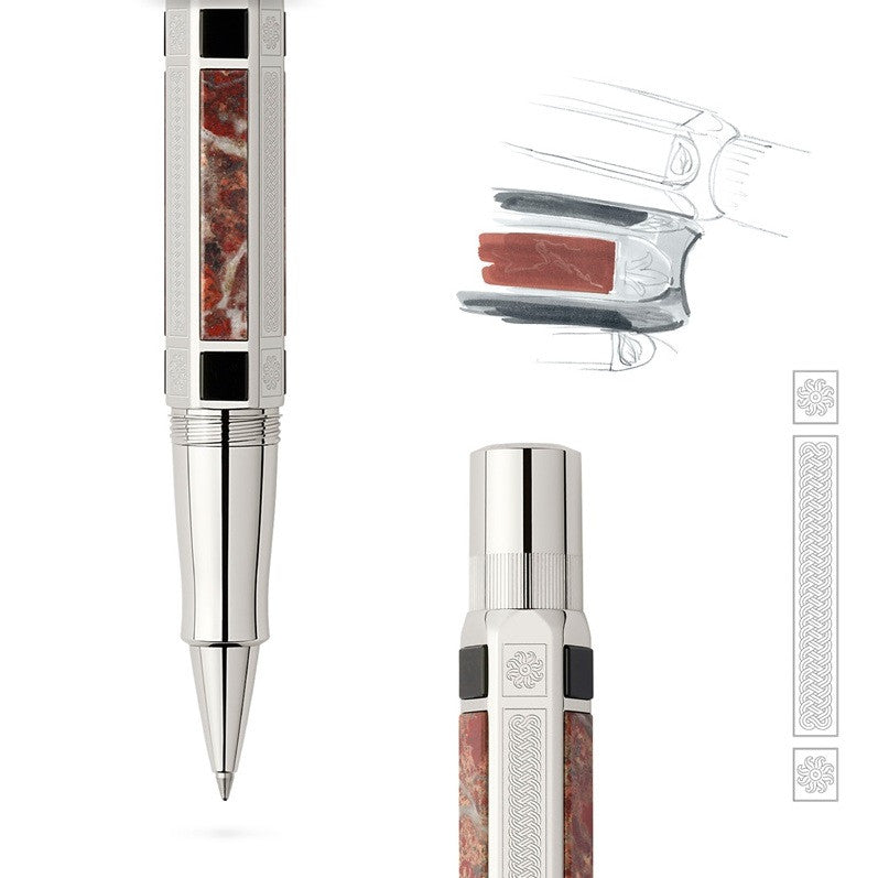 Graf von Faber-Castell Pen of the Year 2014, Platinum Fountain