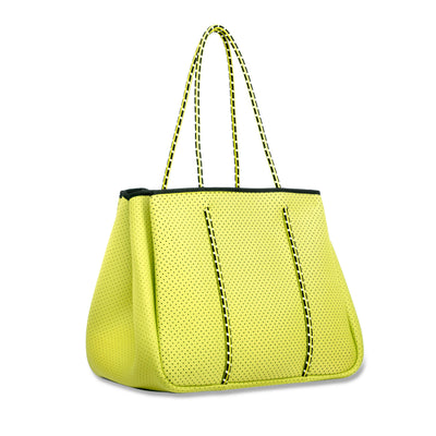 Annabel Ingall Neoprene Tote Bag in Yellow