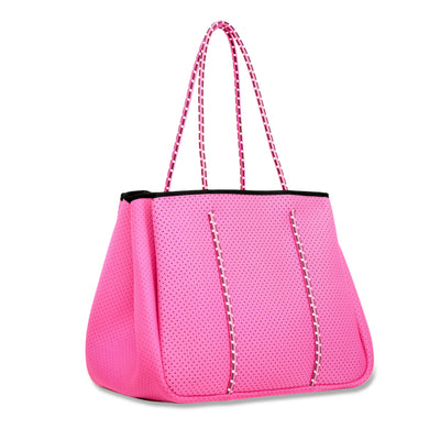 Annabel Ingall Neoprene Tote Bag in Rose