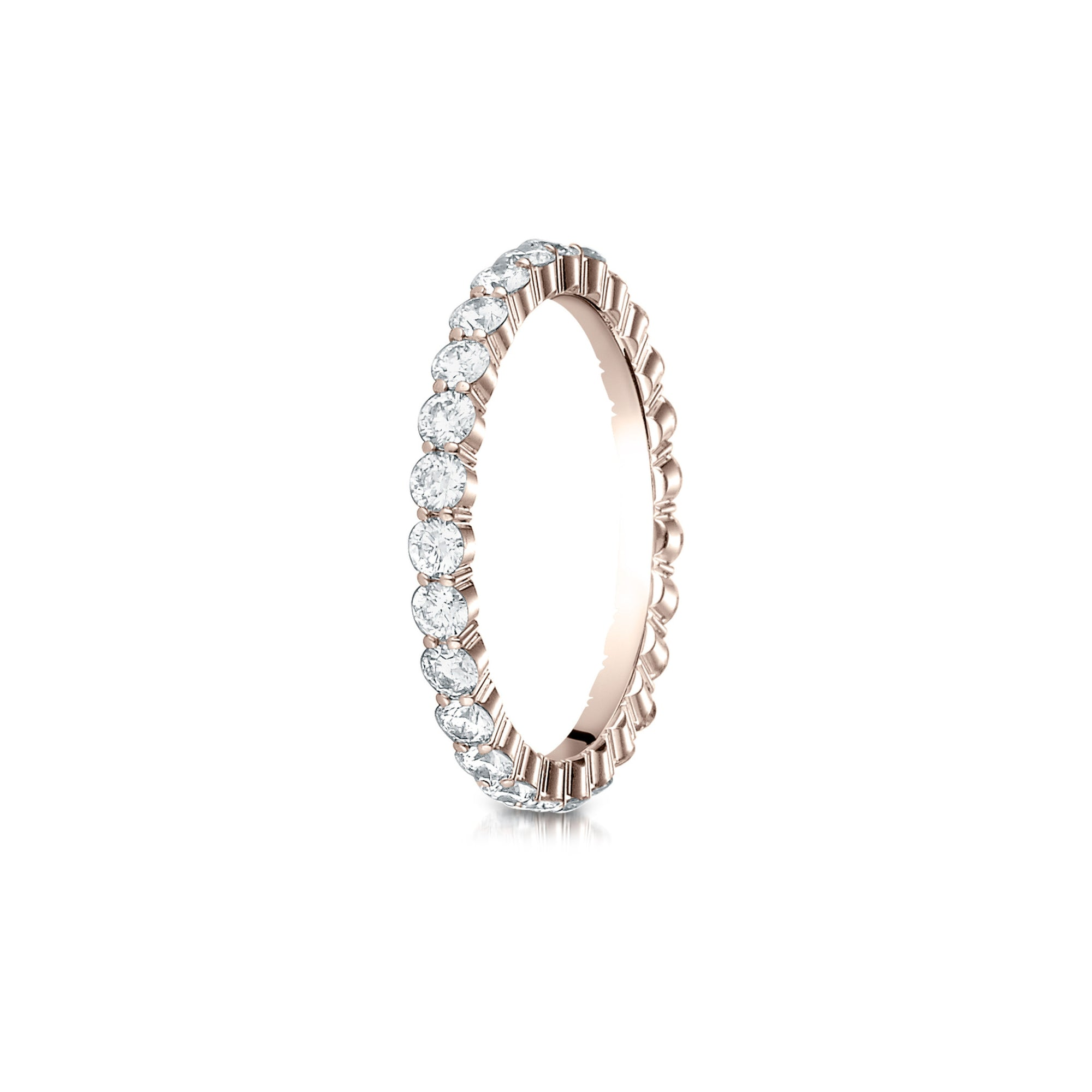 street wedding market product ruby alternating lwb bands anniversary band diamond rose gold and