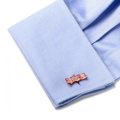 Bacon and Eggs Cufflinks