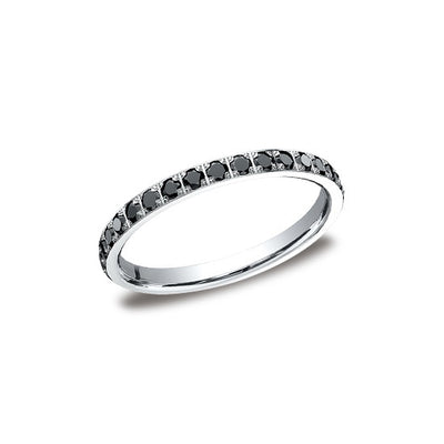 eternity products rose alexis russell gold bands black diamond band