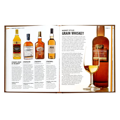 World Whiskey Leather Bound Book