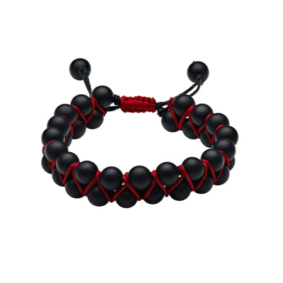 Scott Mikolay Double Row Beaded Men's Bracelet