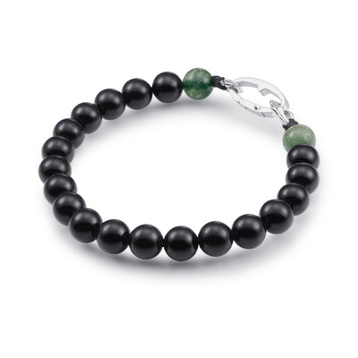 onyx black bracelet men listing il bracelete mens beaded