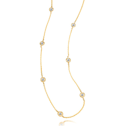 Bling! Diamond by the Yard Necklace .25ctw