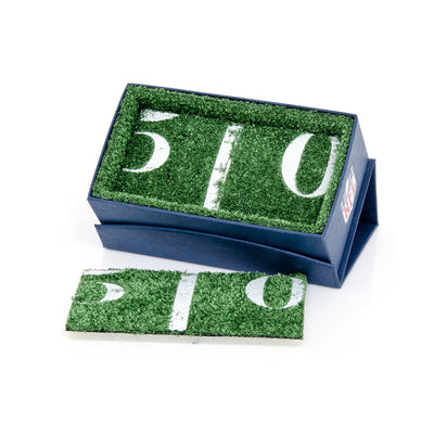 football cufflinks box